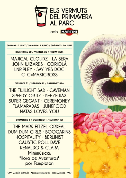 Primavera Sound Martini 2014
