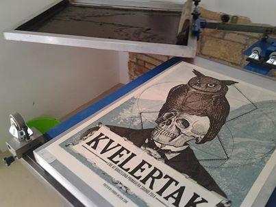 Cartell oficial de Kvelertak (Error! Design), Primavera Sound 2014