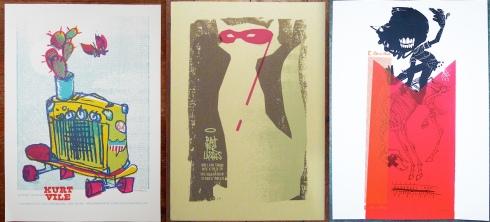 Cartells de concerts: Kurt Vile, Bat for Lashes, Mudhoney (Petting Zoo)